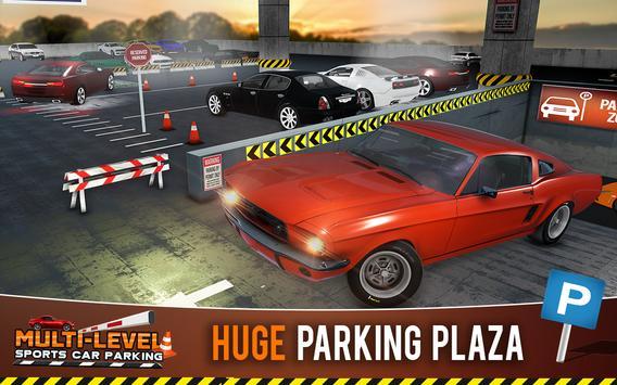 Multi-storey Sports Car Parking Simulator 2019 screenshot 7