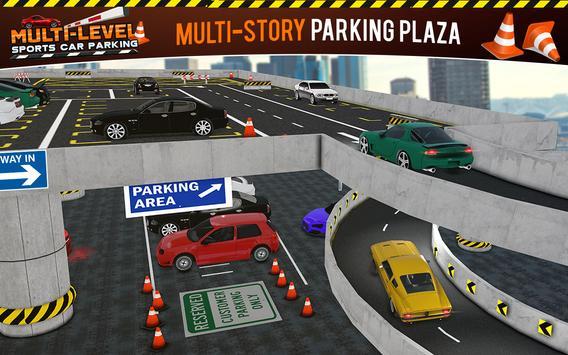 Multi-storey Sports Car Parking Simulator 2019 screenshot 9
