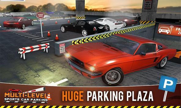 Multi-storey Sports Car Parking Simulator 2019 poster