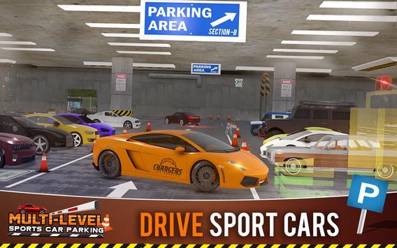 Multi-storey Sports Car Parking Simulator 2019 screenshot 11