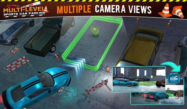 Multi-storey Sports Car Parking Simulator 2019 screenshot 21