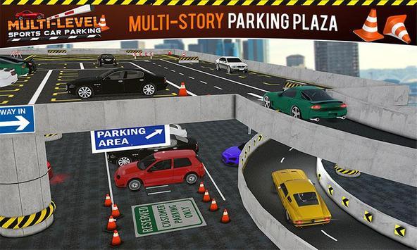 Multi-storey Sports Car Parking Simulator 2019 screenshot 2