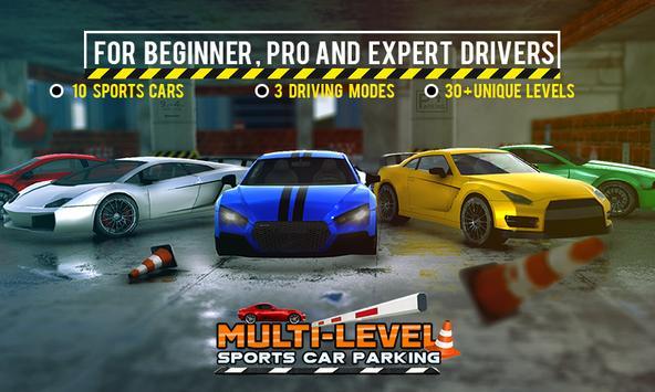 Multi-storey Sports Car Parking Simulator 2019 screenshot 3