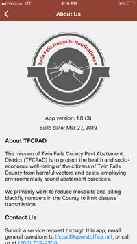 Twin Falls Pest Abatement District Notifications screenshot 3