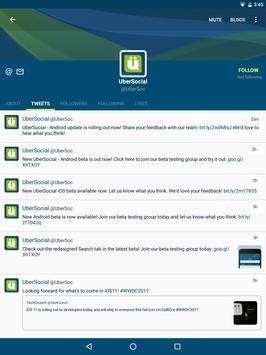 UberSocial Screenshot 3