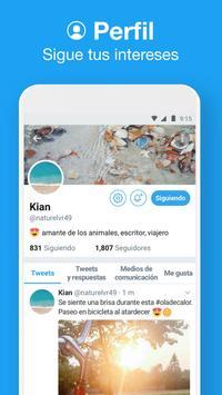 Twitter Lite captura de pantalla 2