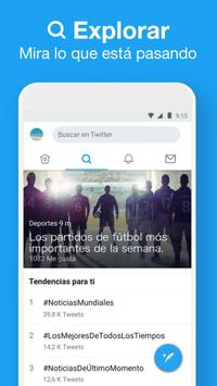 Twitter Lite captura de pantalla 3