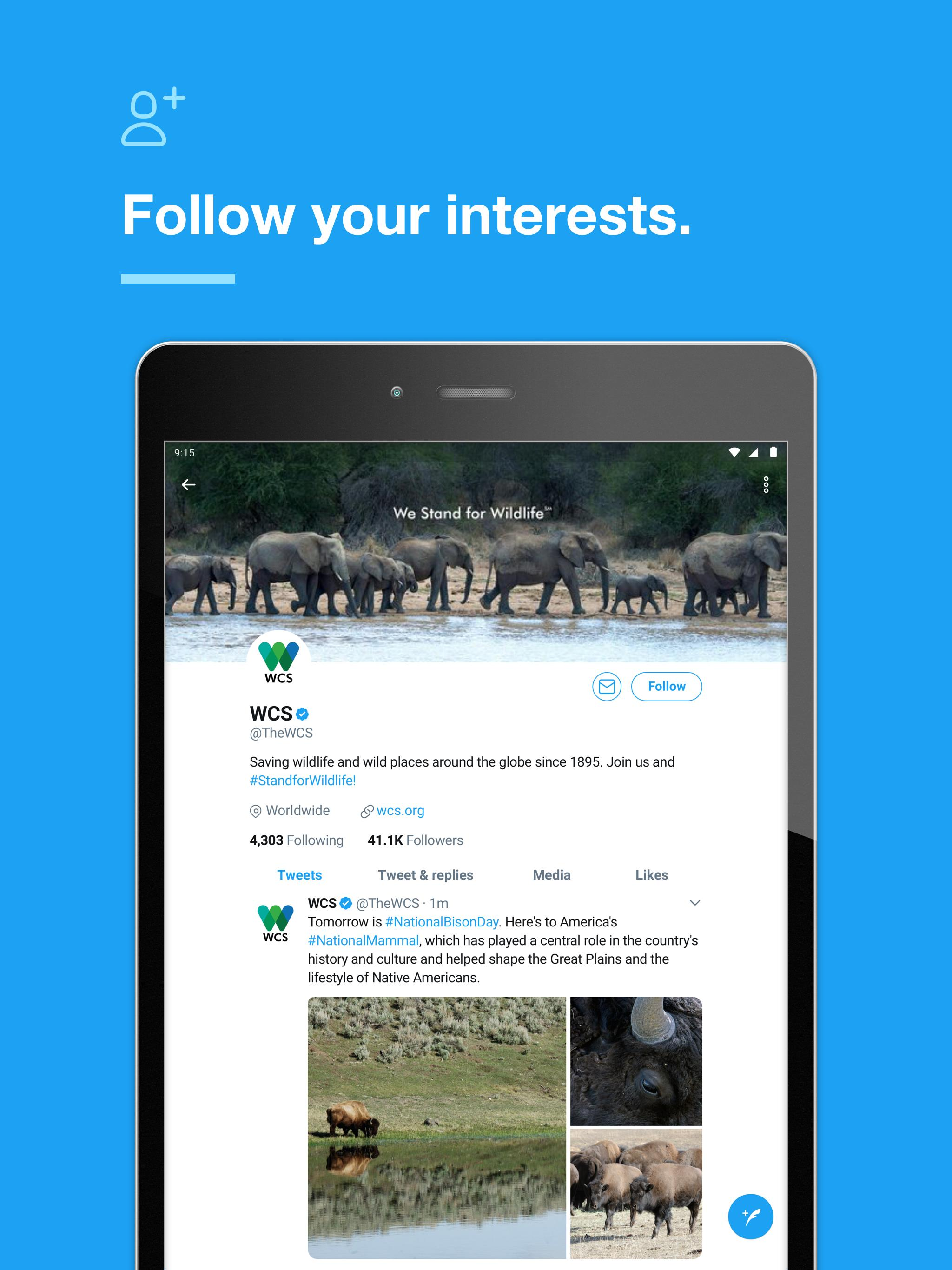 Twitter app for Android download 2019