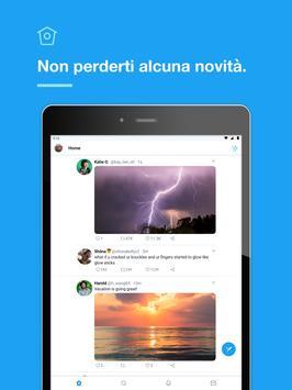 9 Schermata Twitter