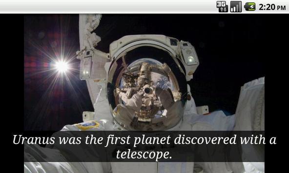 Daily Space Trivia Free screenshot 1