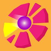 Disc smash icon