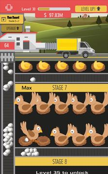 Chicken Eggs factory –Idle farm tycoon screenshot 4