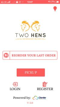 Two Hens poster