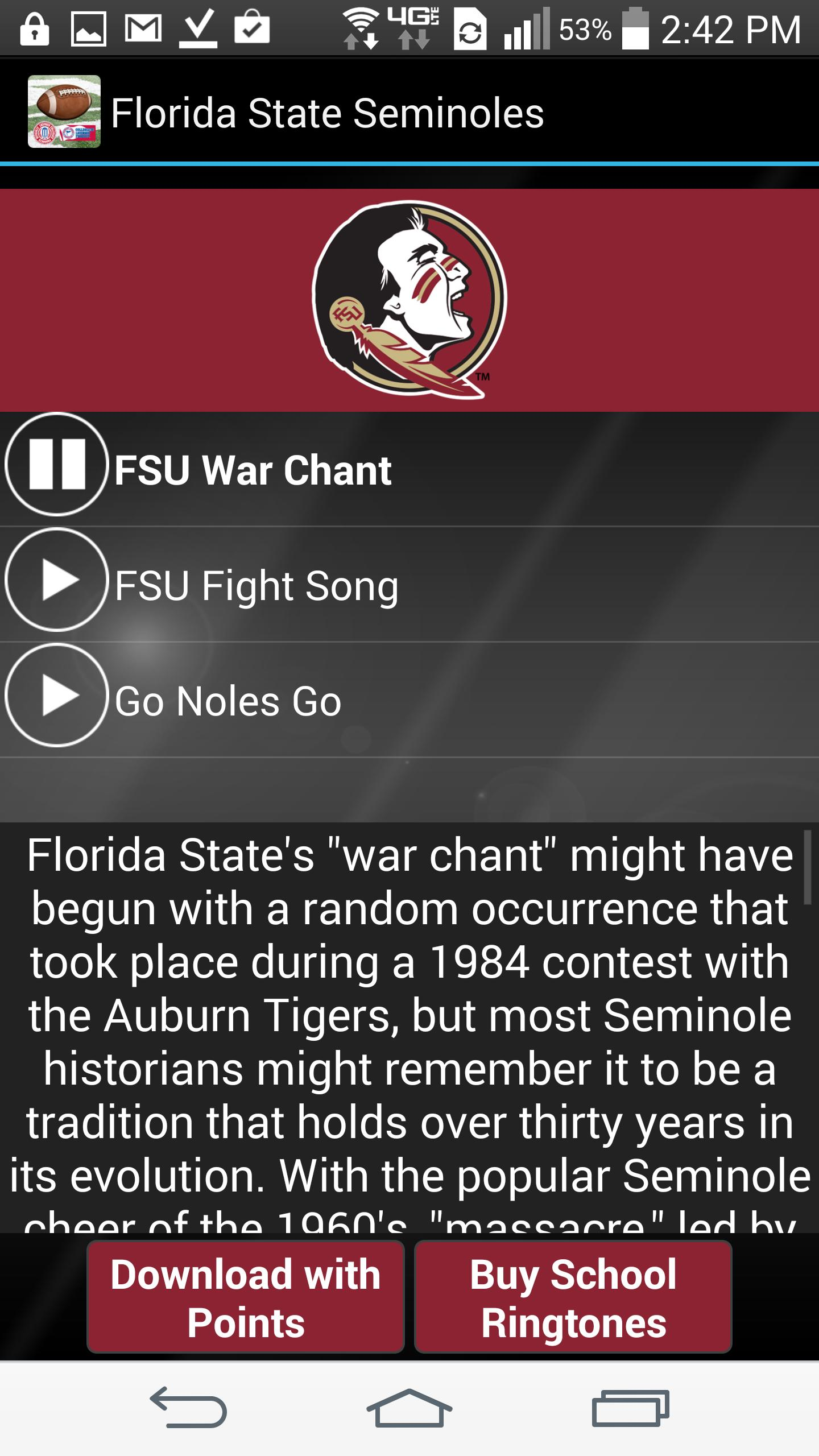 College Fightsongs Ringtones For Android Apk Download