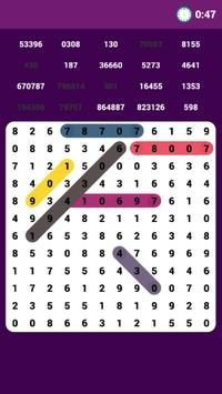 Number Search poster