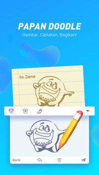 Typany Emoji Keyboard-Pesan DIY, & Foto Keyboard screenshot 4