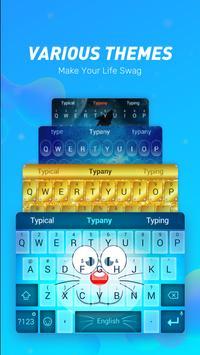Typany keyboard-Terjemahan, Animoji &Keyboard Tema screenshot 1