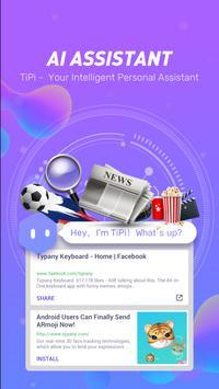 Typany keyboard-Terjemahan, Animoji &Keyboard Tema screenshot 6
