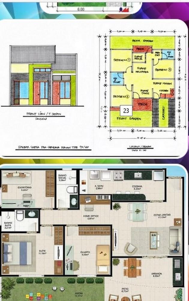 Rencana Desain Rumah Type 70 For Android Apk Download