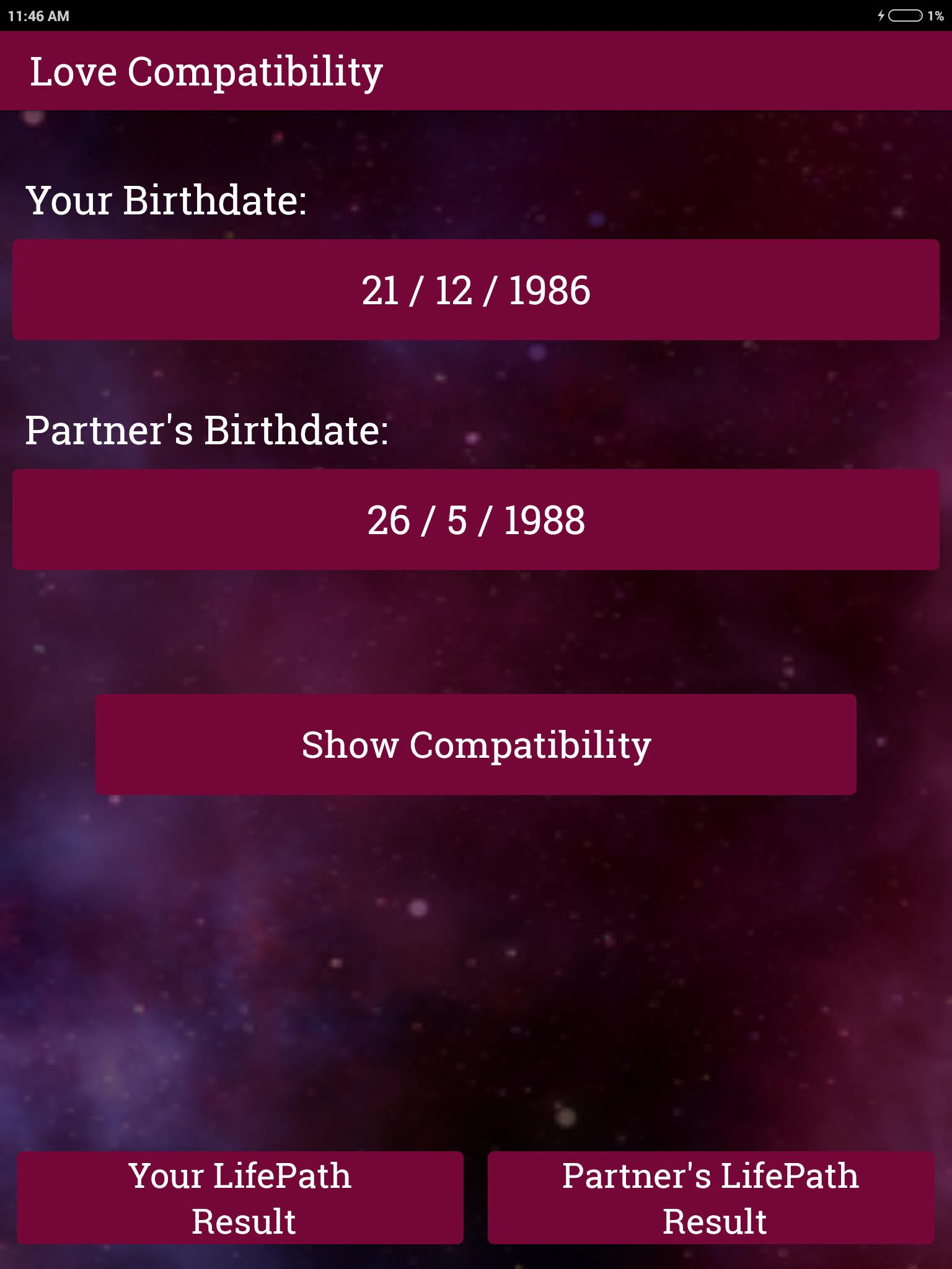 Calculate Love Compatibility by Numerology for Android - APK