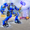 Force Strike Hammer Robot War 图标