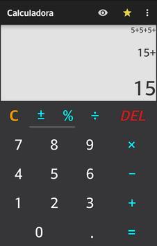 Calculadora imagem de tela 1