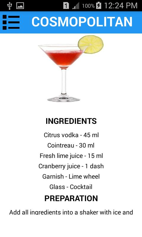 Easy Cocktail Recipes Offline For Android Apk Download