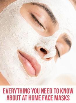 Natural Face Masks Benefits and Recipes poster