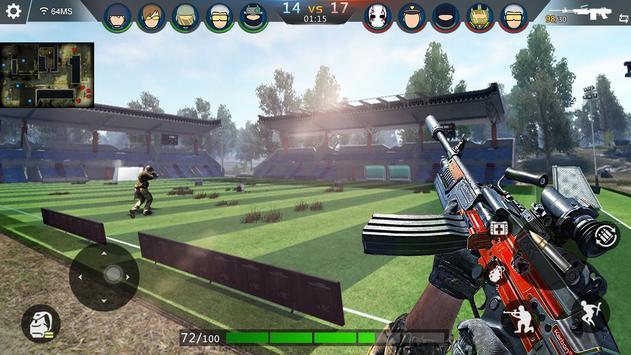FPS Offline Strike : مواجهة مهام القصف تصوير الشاشة 5