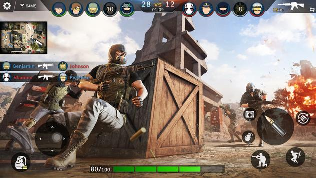 FPS Offline Strike : مواجهة مهام القصف تصوير الشاشة 1