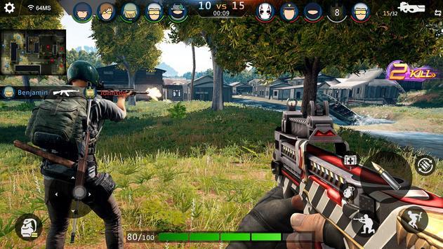 FPS Offline Strike : مواجهة مهام القصف تصوير الشاشة 2