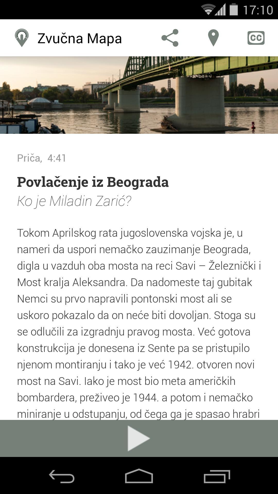Zvucna Mapa Beograda For Android Apk Download