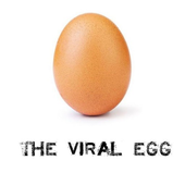 The viral egg icon