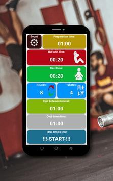 Tabata timer screenshot 21