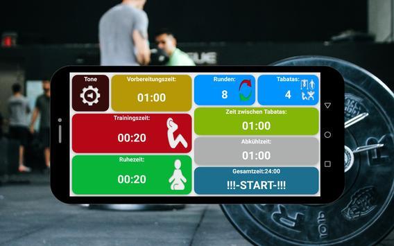 Tabata timer Screenshot 15