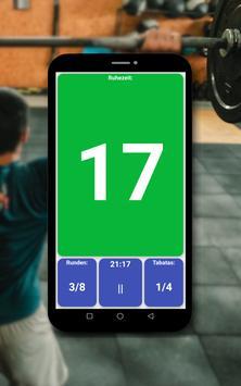 Tabata timer Screenshot 17