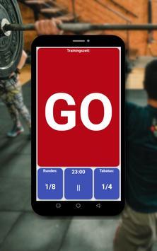 Tabata timer Screenshot 8