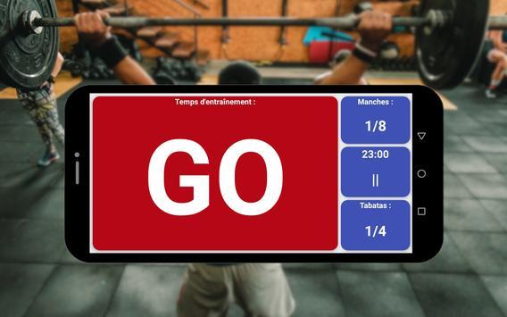 Minuterie de Tabata HIIT capture d'écran 5