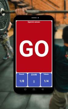 Tabata zamanlayıcı Ekran Görüntüsü 11