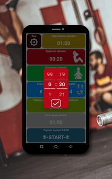 Tabata zamanlayıcı Ekran Görüntüsü 22