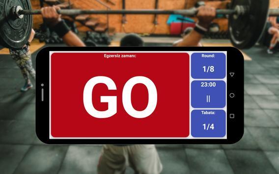 Tabata zamanlayıcı Ekran Görüntüsü 5