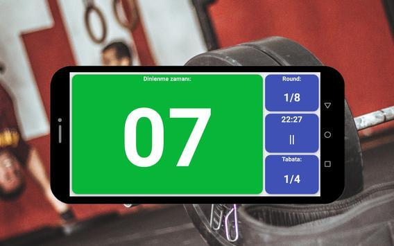 Tabata zamanlayıcı Ekran Görüntüsü 6
