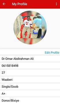 Somali Blood Donation screenshot 6