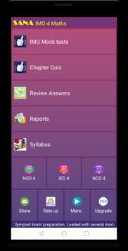 IMO Maths Quiz (Class 4) screenshot 15