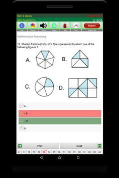 IMO Maths Quiz (Class 4) screenshot 20
