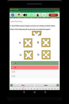 IMO Maths Quiz (Class 4) screenshot 21