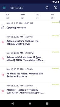 Tableau Conference screenshot 3