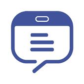 Tablet Messenger Zeichen