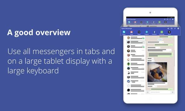 Tablet Messenger screenshot 7
