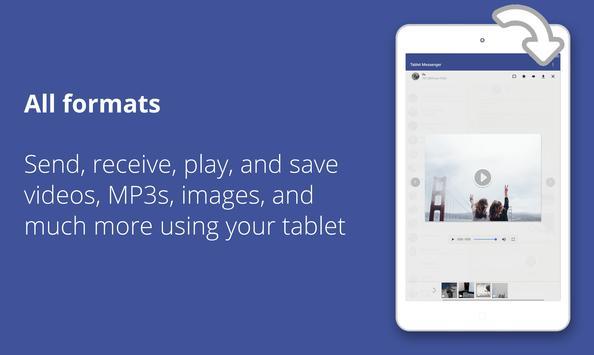 Tablet Messenger screenshot 8